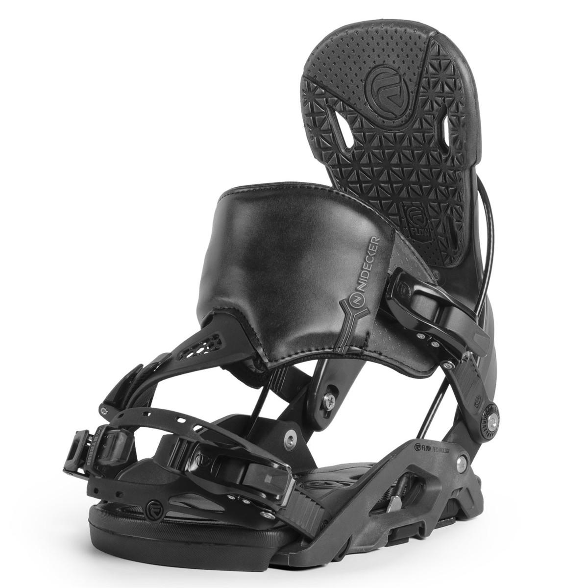 Snowboardové vázání Nidecker Nexus Hybrid 17/18 černá L (EU 40-45)