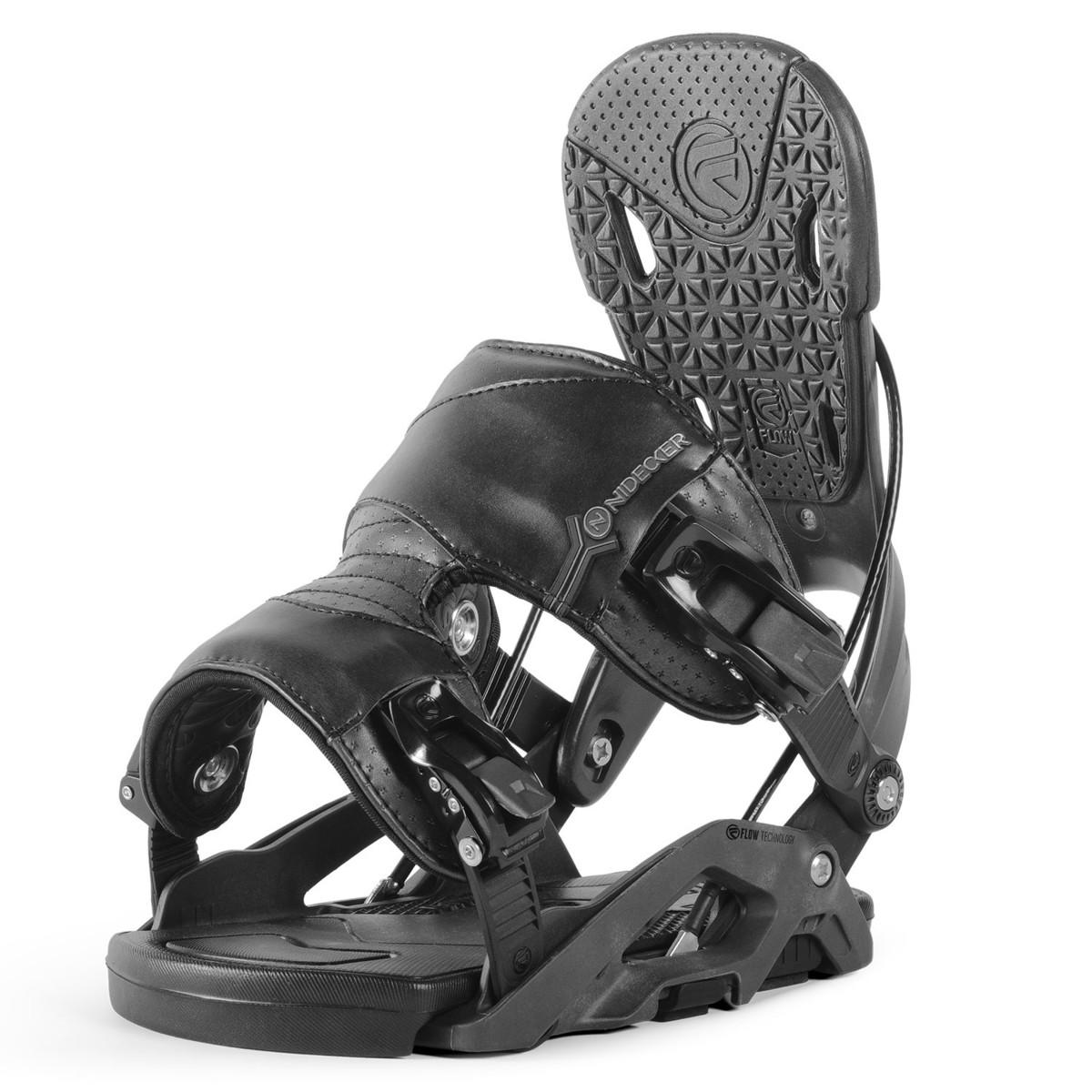 Snowboardové vázání Nidecker Nexus 17/18 černá L (EU 40-45)