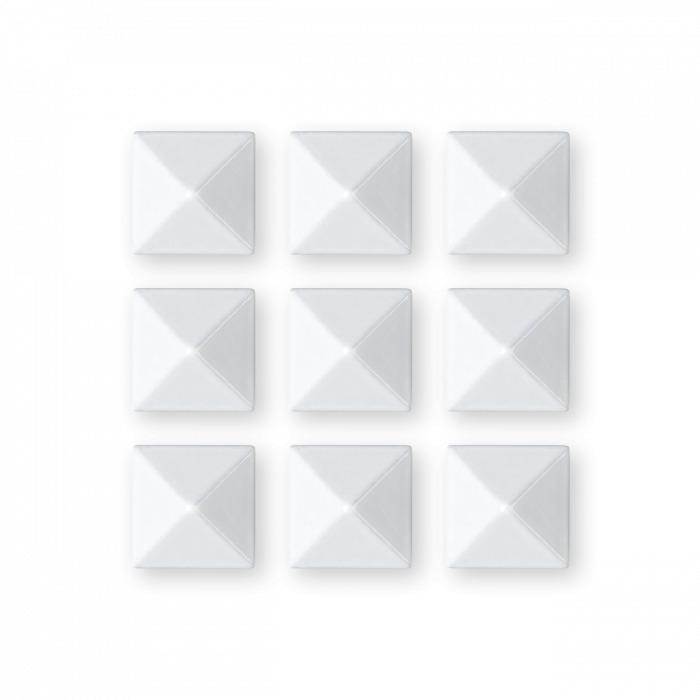 Kovový grip Gravity Pyramid Studs 18/19 bílá