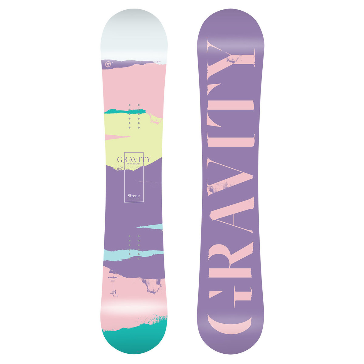 Snowboard Gravity Sirene 18/19 154