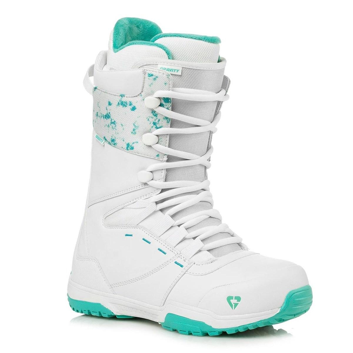 Snowboardové boty Gravity Bliss Lady 18/19 bílá/zelená 7 (41)