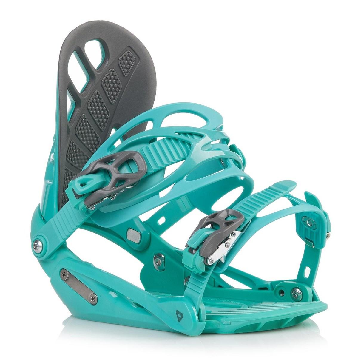 Snowboardové vázání Gravity G1 Lady 18/19 zelená M (EU 37-42)