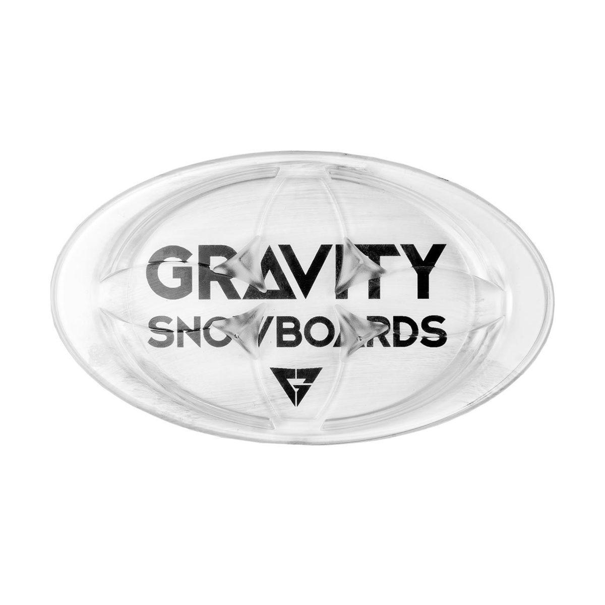 Gumový grip Gravity Logo 18/19 čirý