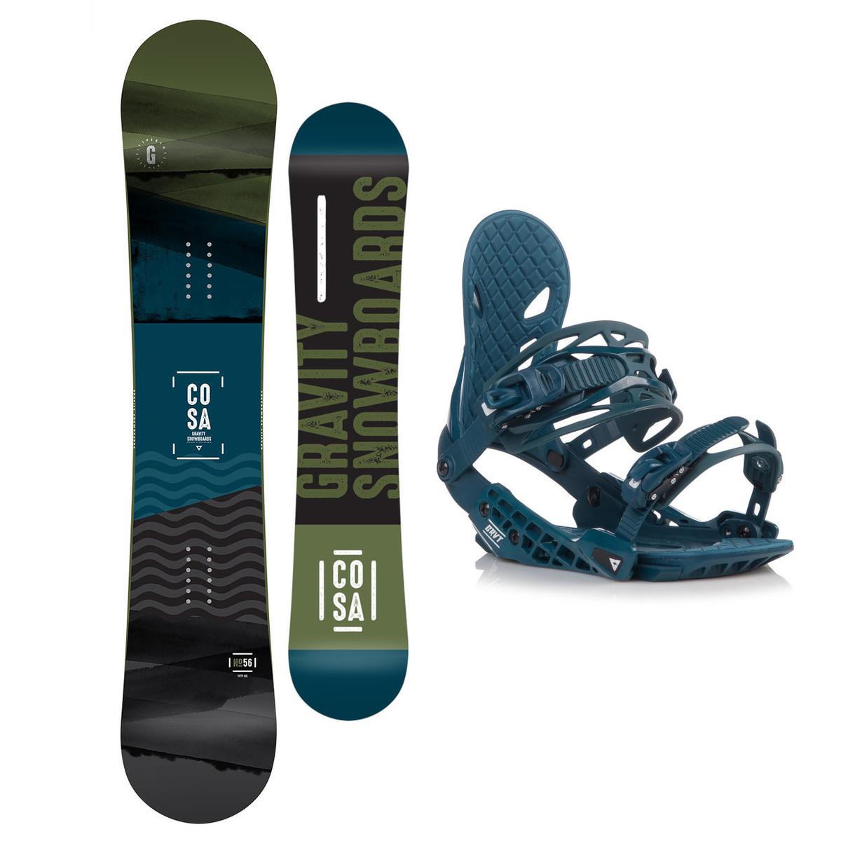 Snowboardový set Gravity Cosa 18/19 L (EU 42-48) 163W