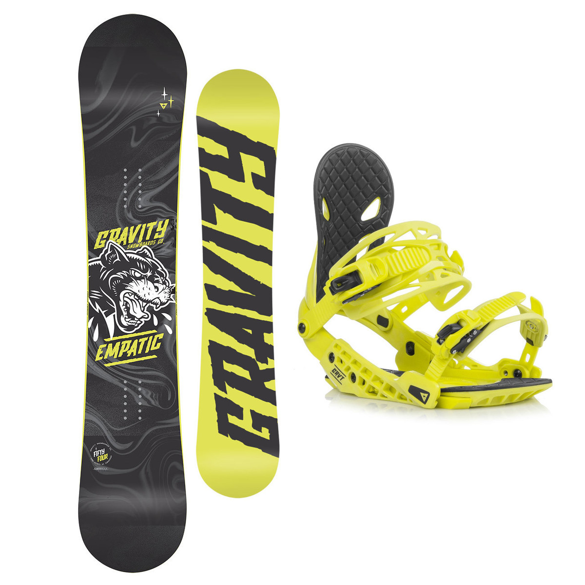 Snowboardový set Gravity Empatic 18/19 L (EU 42-48) 155W