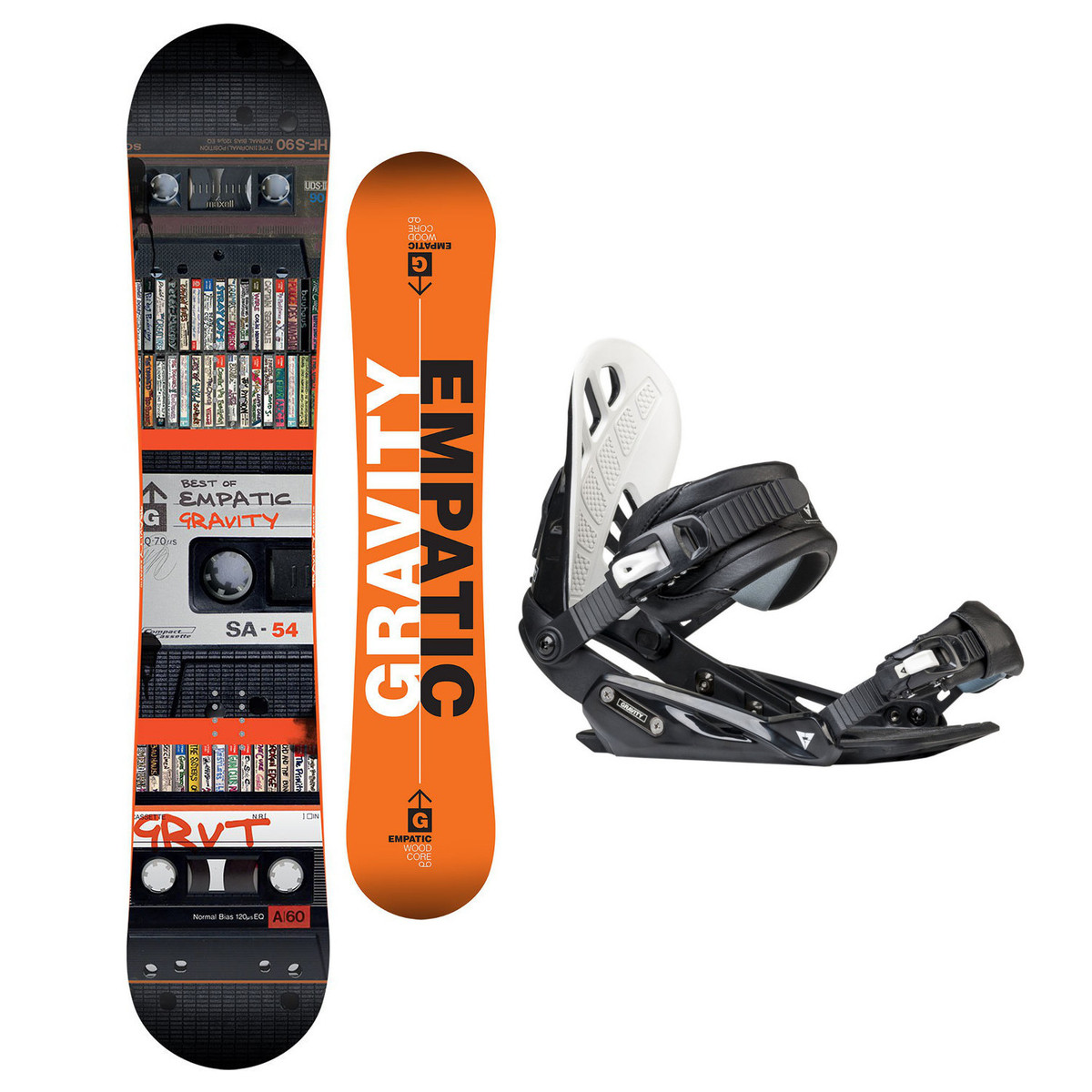 Snowboardový set Gravity Empatic 17/18 L (EU 42-48) 154
