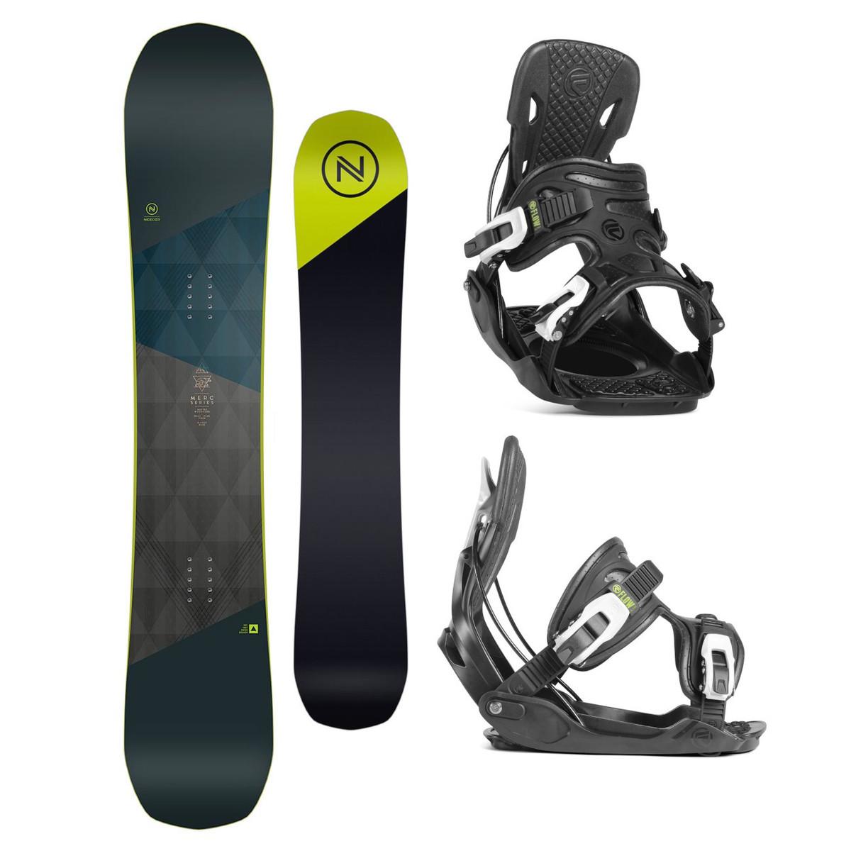 Snowboardový set Nidecker Merc 18/19 XL (EU 44-49,5) 162W