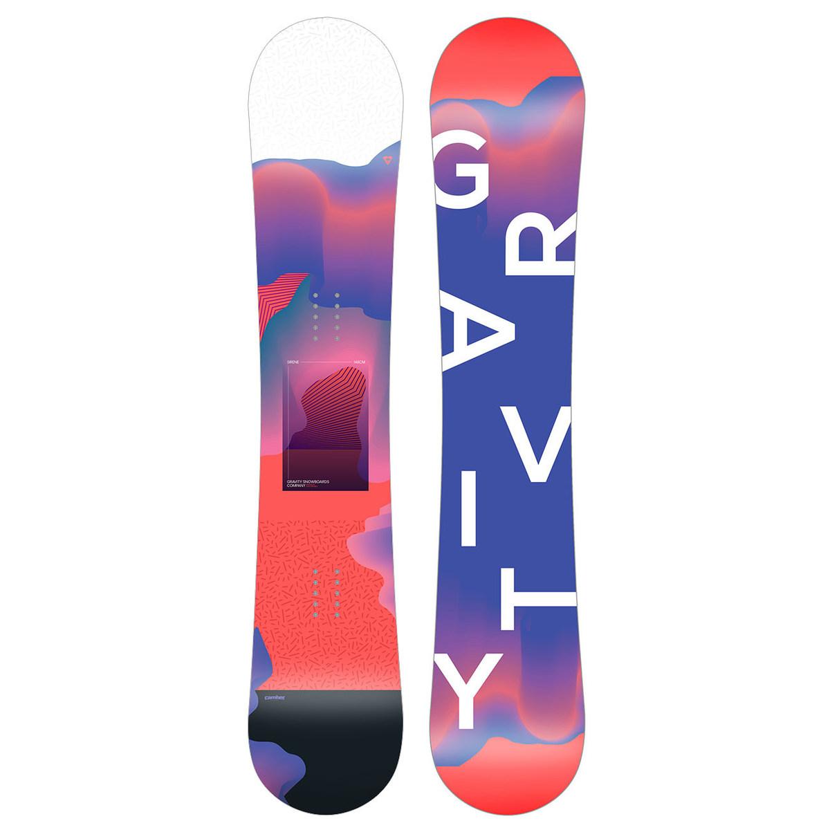 Snowboard Gravity Sirene 19/20 154
