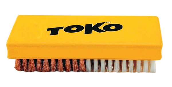 Kartáč Toko Base Brush Combi nylon/bronz